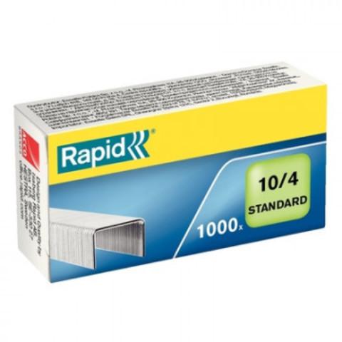 Скобы для степлера N10 Rapid оцинкованные (2-20 лист.) 1000 шт в упаковке