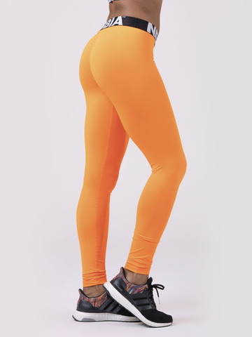 Лосины NEBBIA Squad Hero Scrunch Butt leggings 528 ORANGE