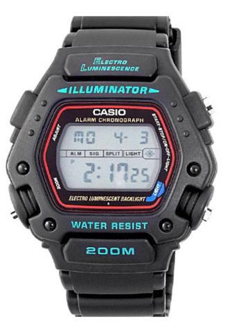 Купить Мужские электронные часы Casio DW-290-1VS по доступной цене