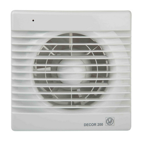 Вентилятор накладной S&P Decor 300 CR (таймер)
