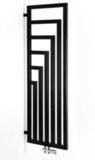 Дизайн радиатор водяной черный Angus