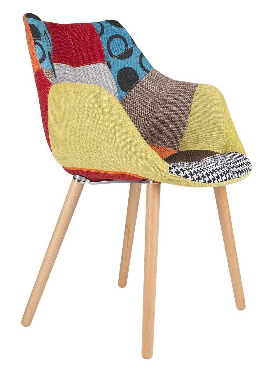 Кресло Zuiver Twelve - patchwork colour - 1100266