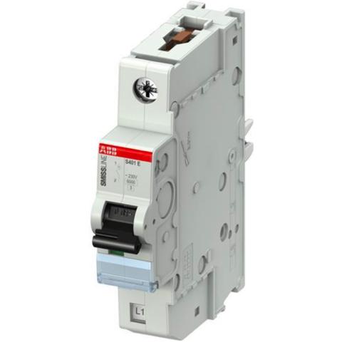 Автоматический выключатель 1-полюсный 8 А, тип B, 15 кА S401E-B8. ABB. 2CCS551001R0085