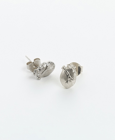 Серьги ANATOMIC HEART MEDIUM SIlVER