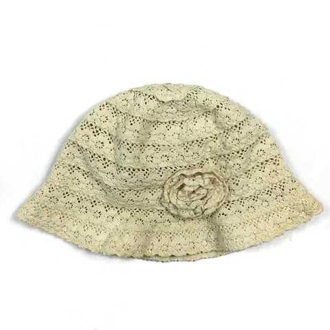 Шляпка с полями маленькими на 3года