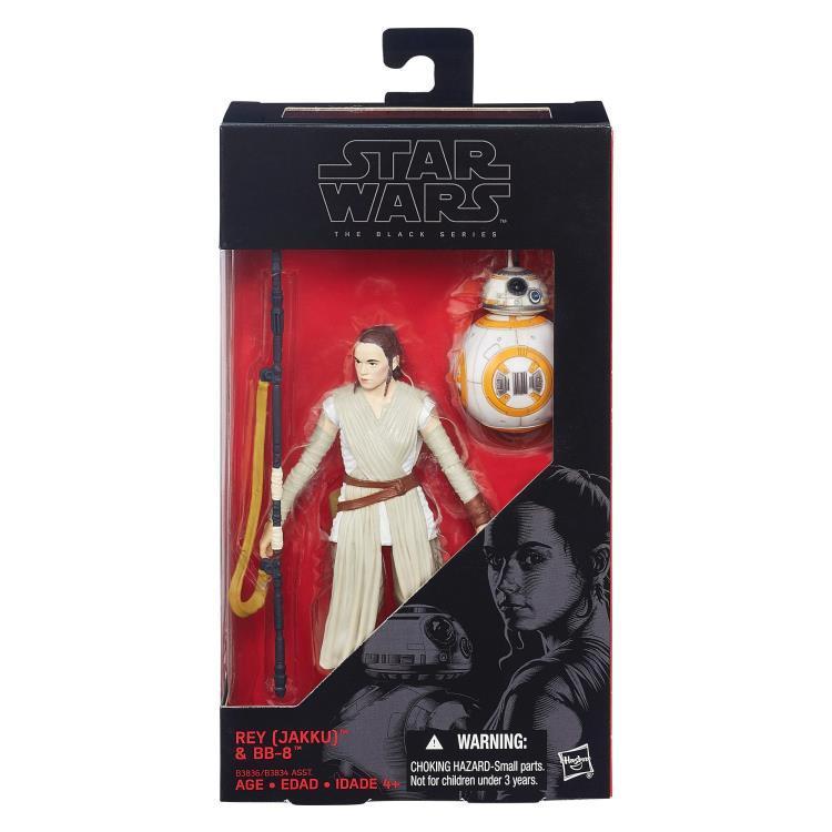 Фигурка Рея и дроид BB-8 Star Wars: Black Series Звездные Войны