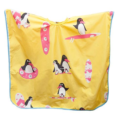 Детский пеньюар Harizma Пингвины желтого цвета