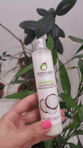 Органическое кокосовое масло холодного отжима