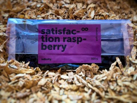 Табак Infinity Satisfaktion Raspberry 100 г