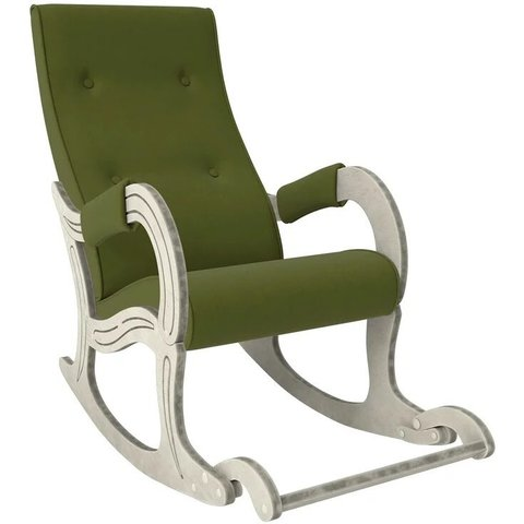Кресло-качалка Комфорт Модель 707 дуб шампань патина/Montana 501, 013.707