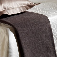 Плед 130х190 Basic от Curt Bauer коричневый