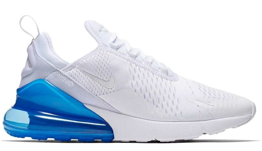 Nike Air Max 270 (White/Blue) (026)
