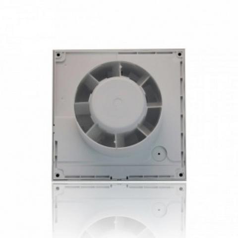 Вентилятор накладной S&P Silent 300 CHZ Silver (таймер, датчик влажности)