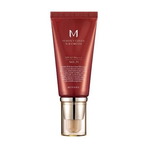 BB Крем MISSHA M Perfect Cover BB Cream #21 SPF42 / PA+++ 50ml