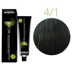 L'Oreal Professionnel INOA 4.1 (Шатен пепельный) Краска для волос 60 мл.