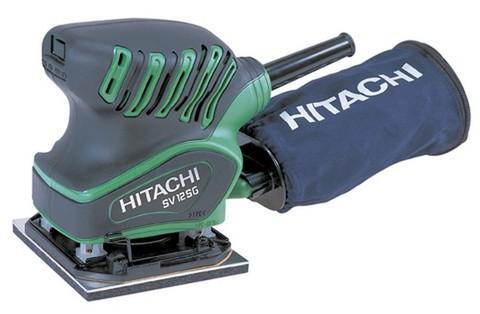 Плоскошлифовальная вибрационная машина Hitachi SV12SG 200Вт 110х100мм