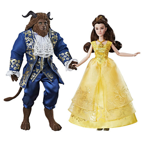 Набор из 2 Коллекционных Кукол Бэль и Чудовище (Belle & Beast) Грандиозный Роман - Красавица и Чудовище, Hasbro