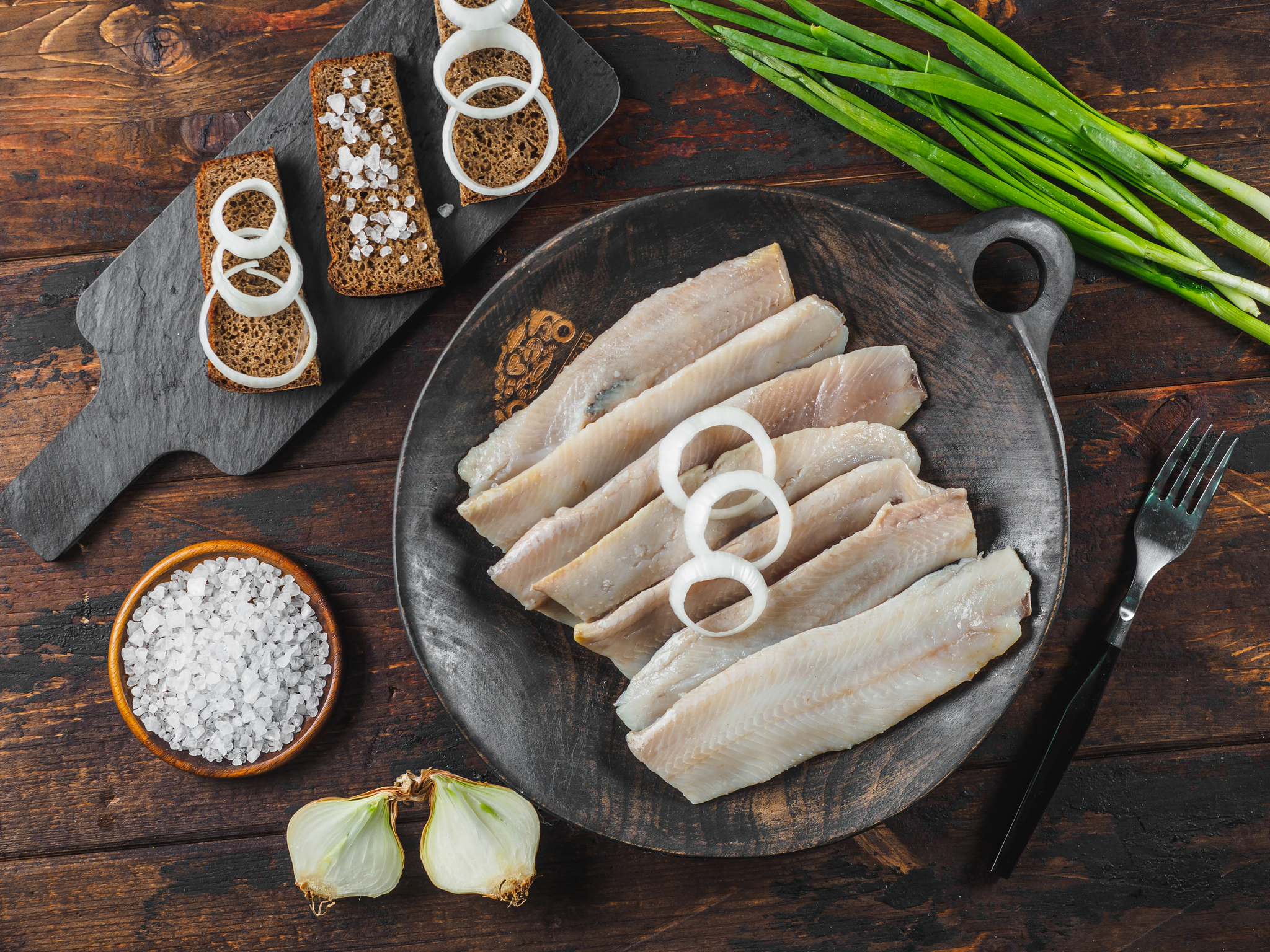 Филе сельди без кожи (малосоленое) 500 гр
