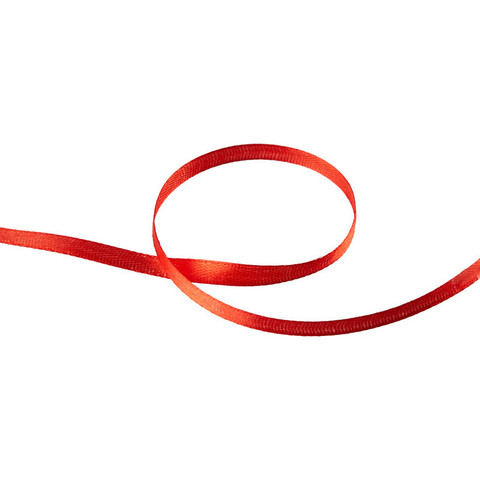 Лента обвязочная для прошивки документов красная, 100 м 3шт/уп