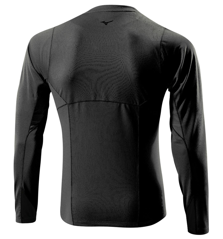 Мужская беговая рубашка Mizuno Warmalite L/S TEE (J2GA4515 09) фото