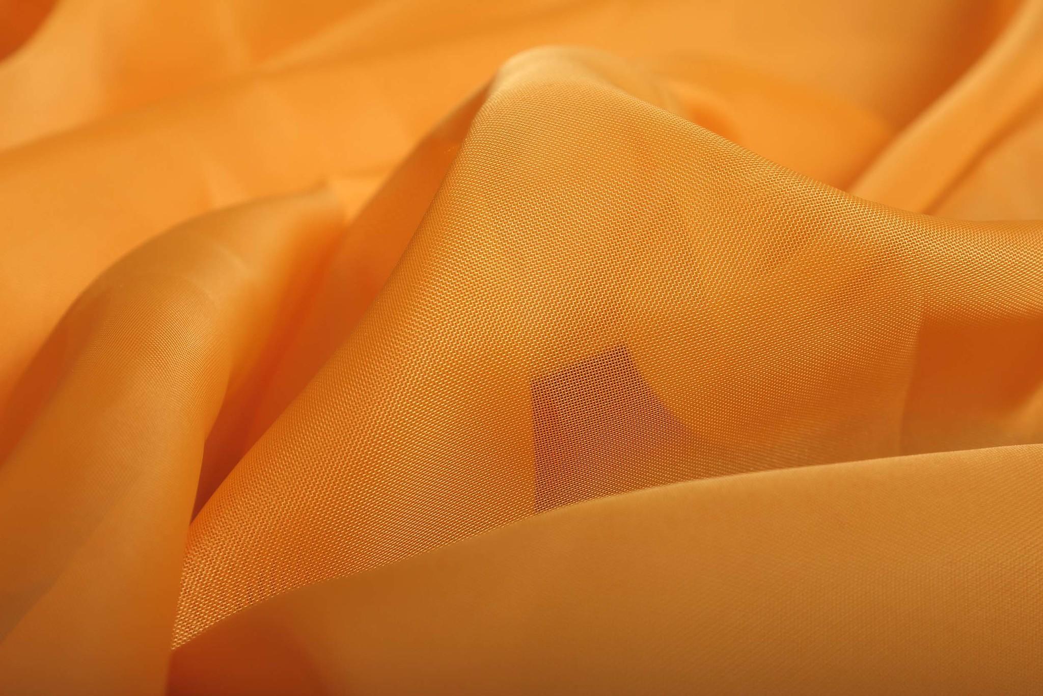 Длинные шторы. Тюль вуаль Nouvelle (Orange)