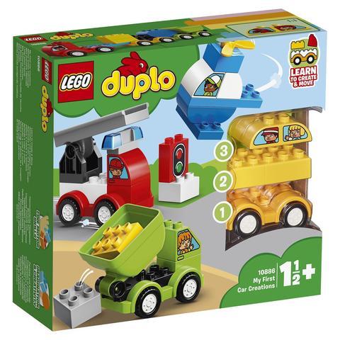 LEGO Duplo: Мои первые машинки 10886 — My First Car Creations — Лего Дупло