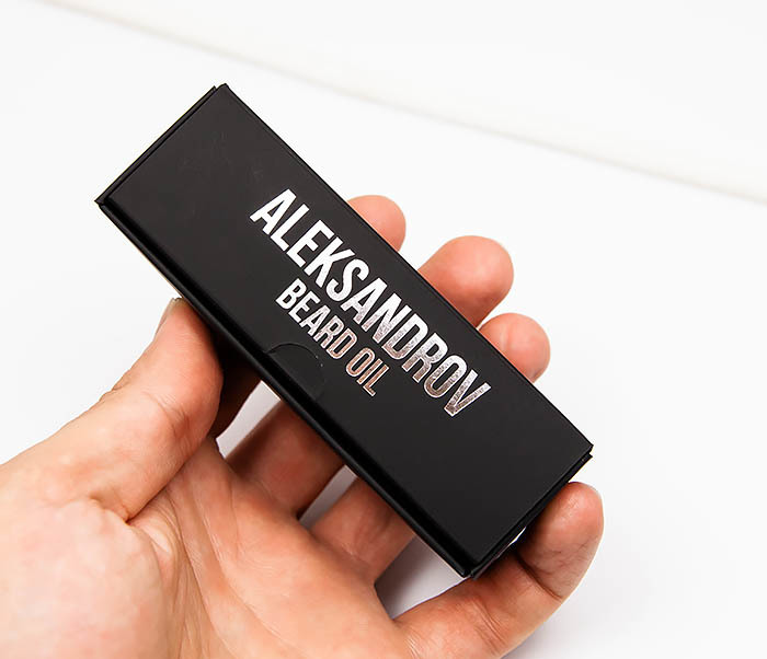 RAZ420-1 Масло для бороды без запаха Aleksandrov «Nothing» (30 мл) фото 07