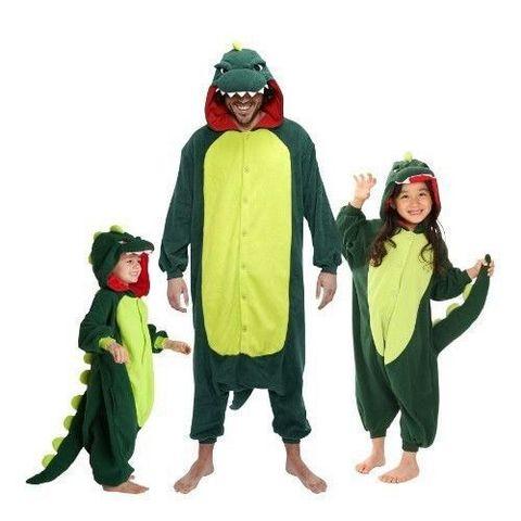 Кигуруми зеленый дракон