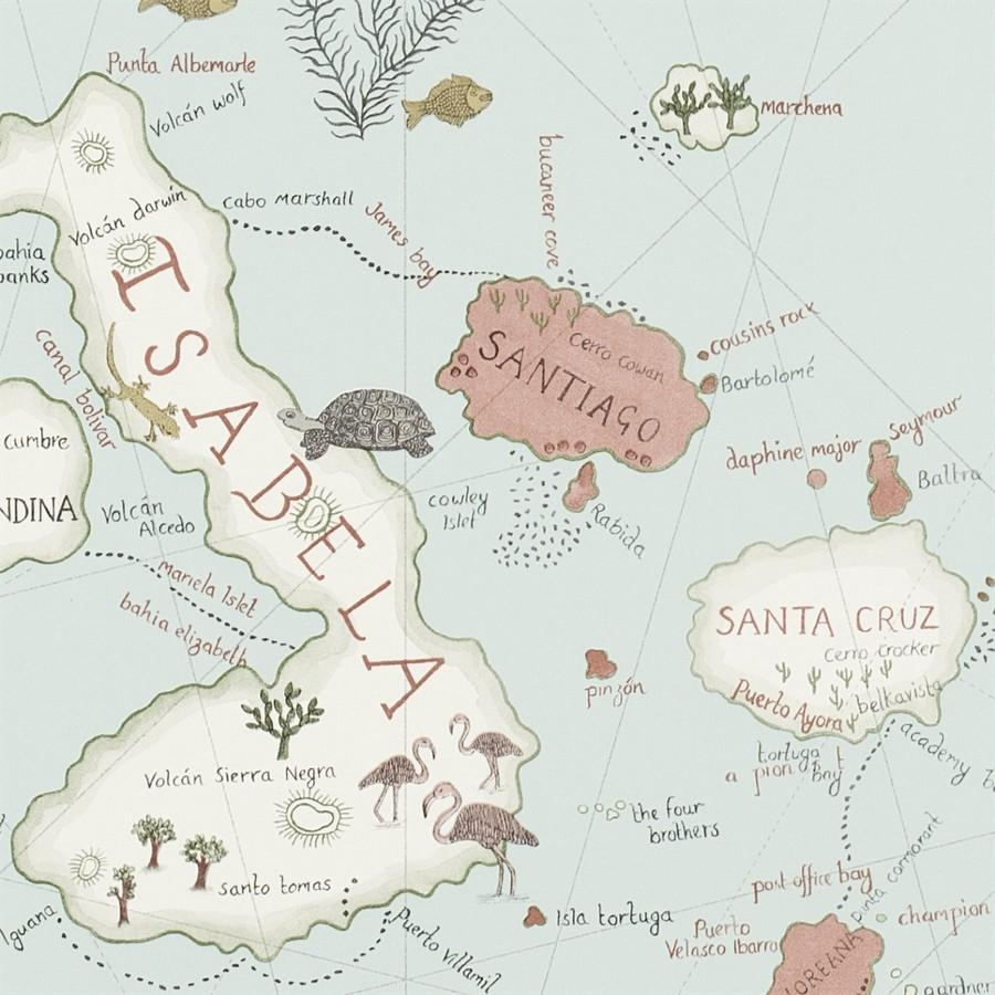 Обои Sanderson Voyage of Discovery 213364, интернет магазин Волео