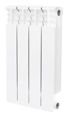 Биметаллический радиатор Stout Space 500 - 4 секции