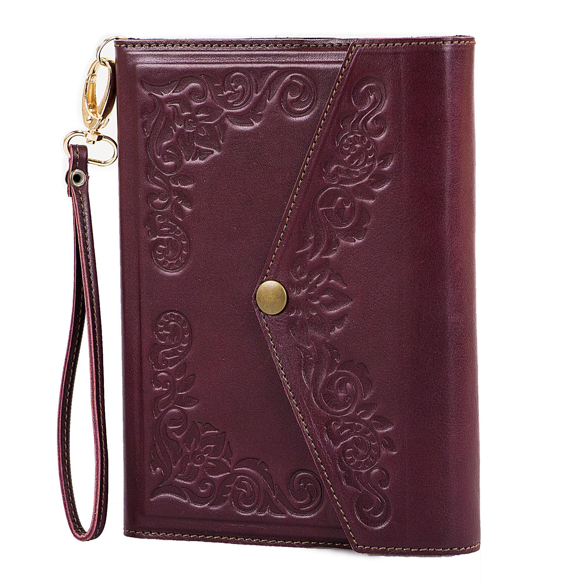 Ежедневник кожаный А5 «Женская сумочка» А81001