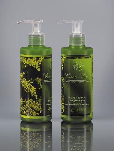 Liv delano Green Style Гель-пенка ультрамягкая для сухой чувствительной кожи 190г