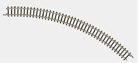 Согнутый рельс радиус 45 градусов (за 1 шт) MARKLIN 8520