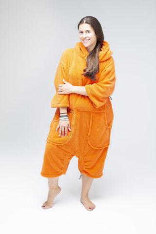 Пончо-комбинезон MyWave Orange