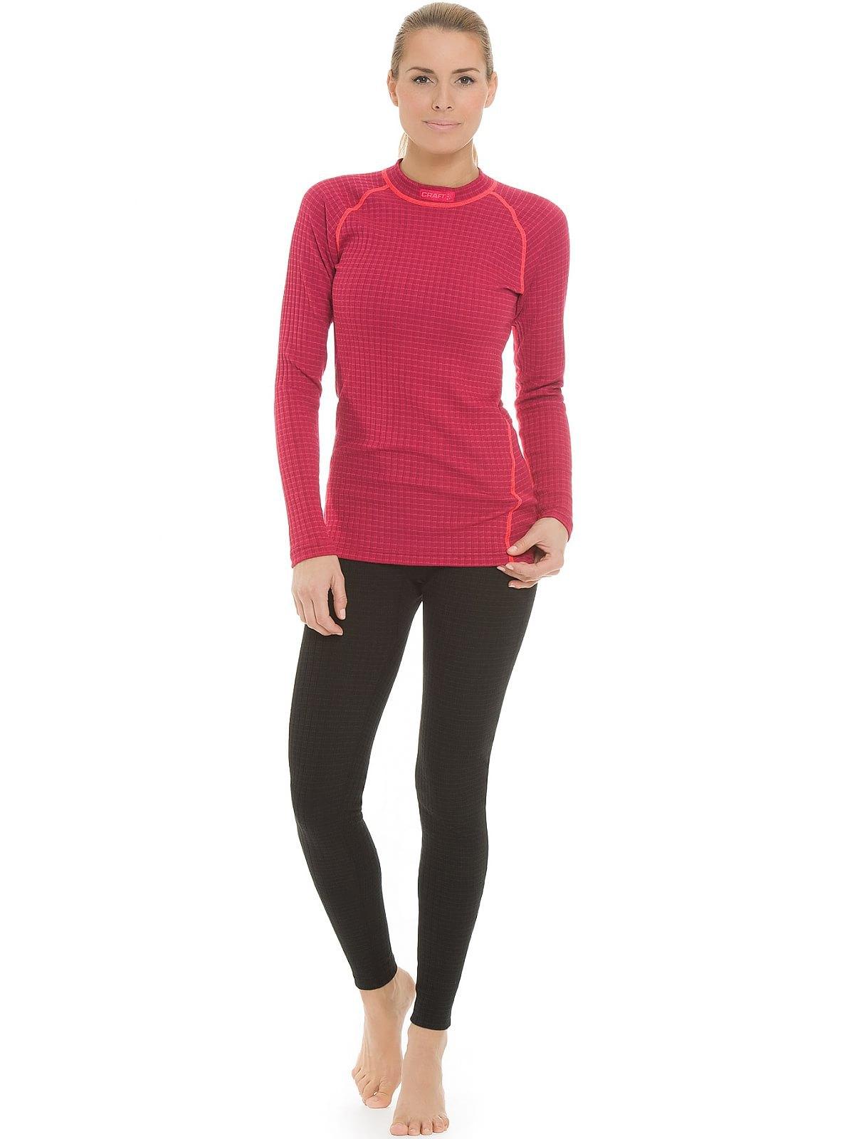 Женское термобелье рубашка крафт Warm Wool Red (1903724-2482)
