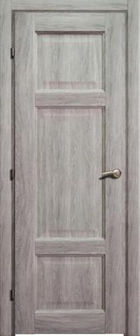 Дверь Краснодеревщик ДГ 6343, цвет дуб пепельный, глухая