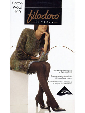 Колготки Cotton Wool 100 XL Filodoro
