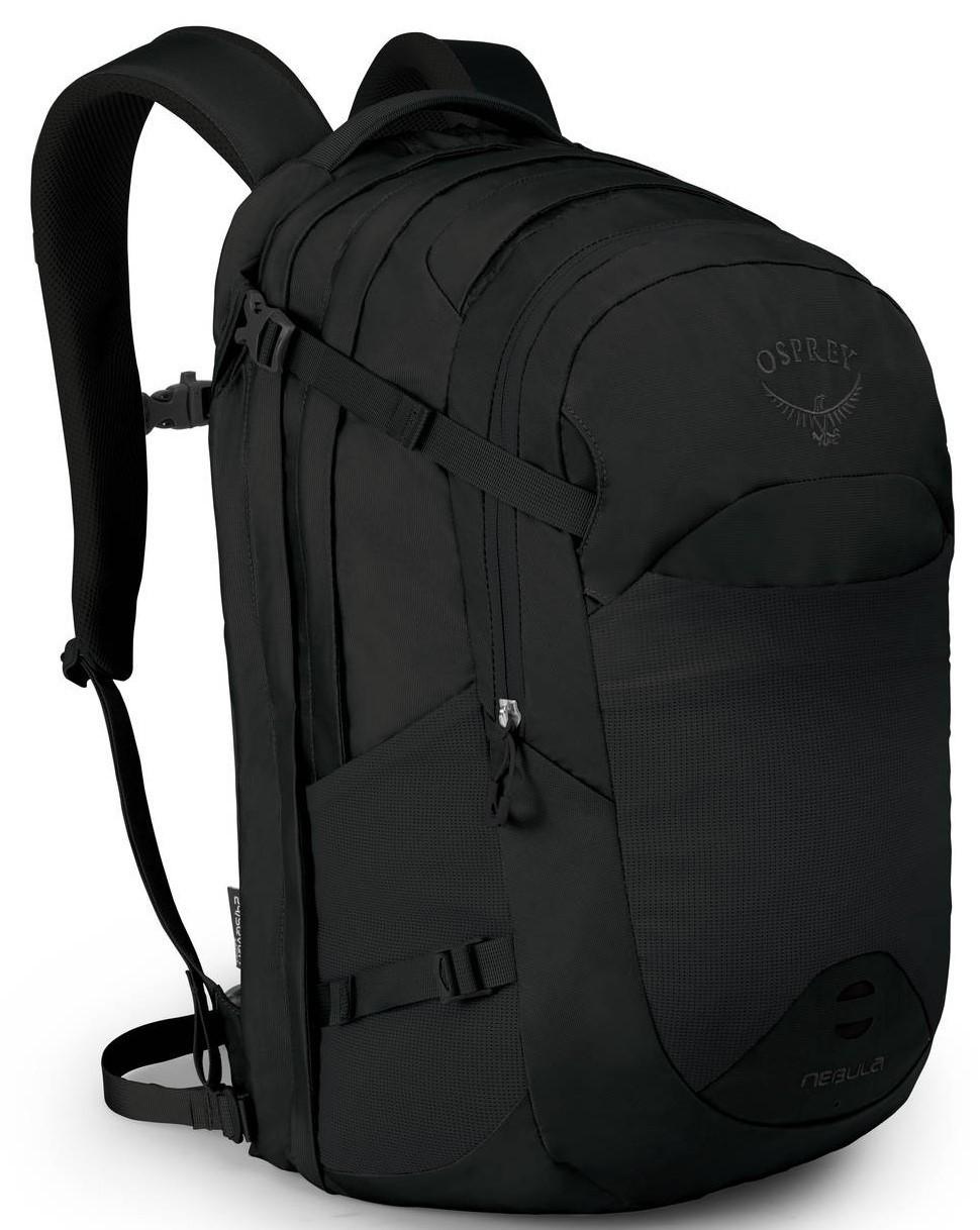 Городские рюкзаки Рюкзак городкой Osprey Nebula 34 Black Nebula_F19_Side_Black_web.jpg