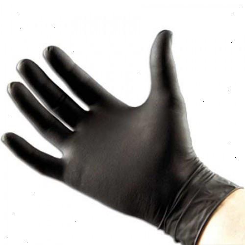 Перчатки для татажа и пирсинга нитриловые размер M