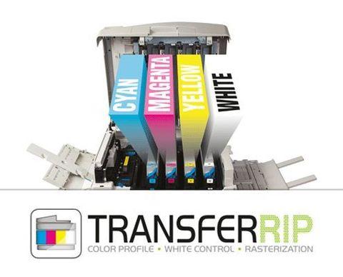 FOREVER TransferRip - программный RIP для расстрирования и управления цветом при трансферной печати. CMYK - для 4-х цветных принтеров.