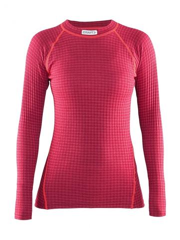 Женское термобелье рубашка Craft Warm Wool Red (1903724-2482)