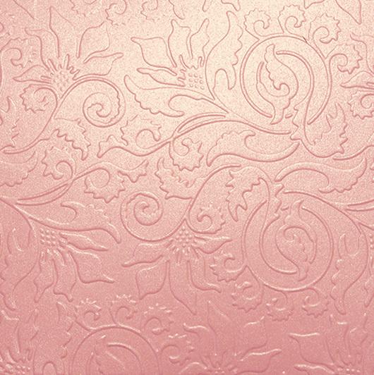 Бумага с тиснением Орнамент, коричневый