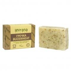 Натуральное мыло ручной работы Гречка 100g, ТМ Levrana