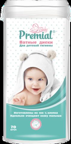 Bumfa Group Premial Ватные диски детские 70шт