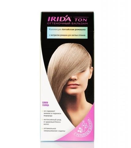 Irida Irida Ton Оттеночный бальзам для окраски волос Блики солнца 2*25мл