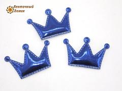 Мягкие короны средние синие № 1