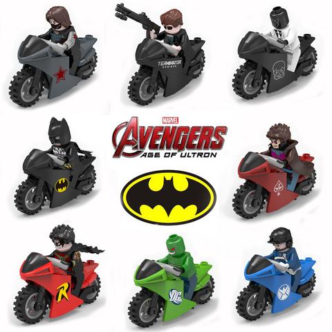Minifigures SH 022 Superheroes Motorcycle