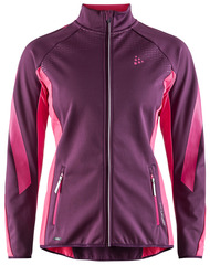 Элитная лыжная куртка Craft Sharp Softshell XC Purple женская