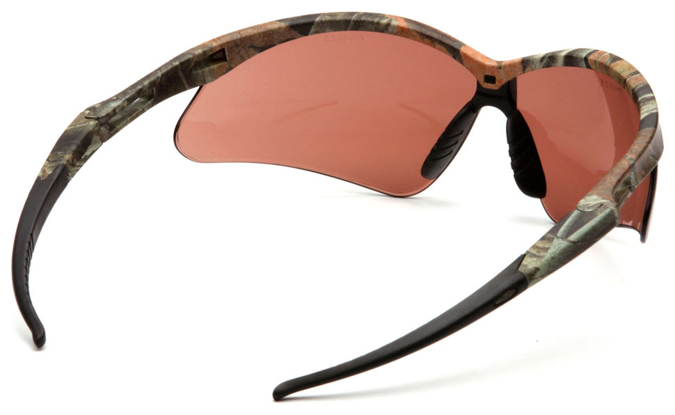 Очки баллистические стрелковые Pyramex PMXTREME SCM6318STP Anti-fog коричневые 50%