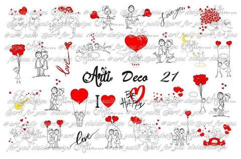 Слайдер Arti 3D Deco № 021